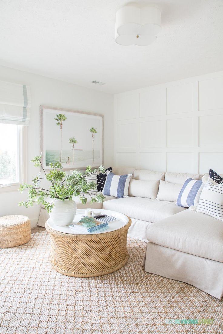 Home Decor, Coastal Living Rooms