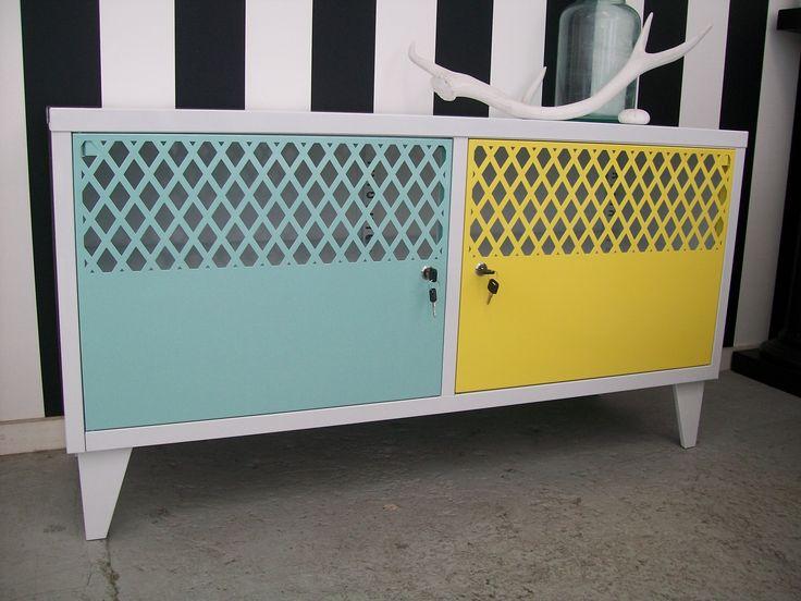 Fun Funky TV Cabinet @ NZ Locker Shop