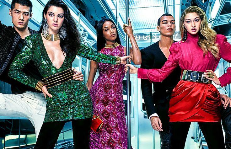 H&M x Balmain, une collaboration titanesque   Le magazine de la jeune création - Zebule Magazine
