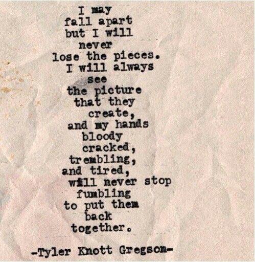 Falling Apart Quotes. QuotesGram