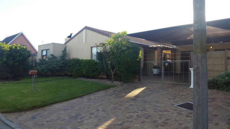Walking distance to the Brackenfell High School,  Easy access to the N1, Spacious Bedrooms with built in Cupboards,  en suite in the main bedroom, Family Bathroom,  Small study or storage room. Air con in the main bedroom. Laminated  floors in all the bedrooms and Lounge,  Spacious Kitchen  with lots of cupboards,  Braai room ,  enclosed garden front and back, 54m2 garage with water points and electricity,   extra undercover parking behind gates.Offers welcome,  Contact me or send me an…