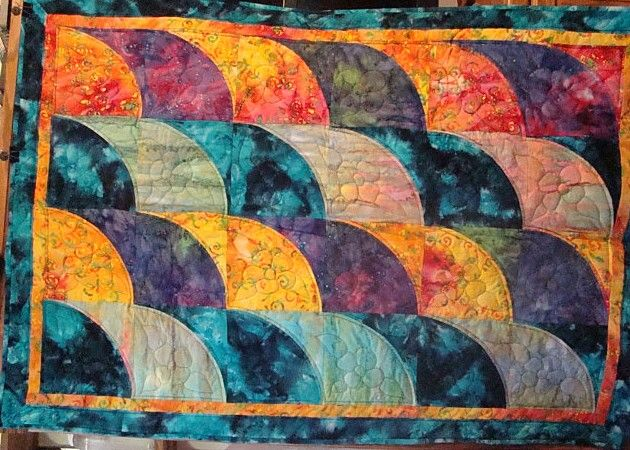 1000 Images About Quilts Curved Piecing On Pinterest