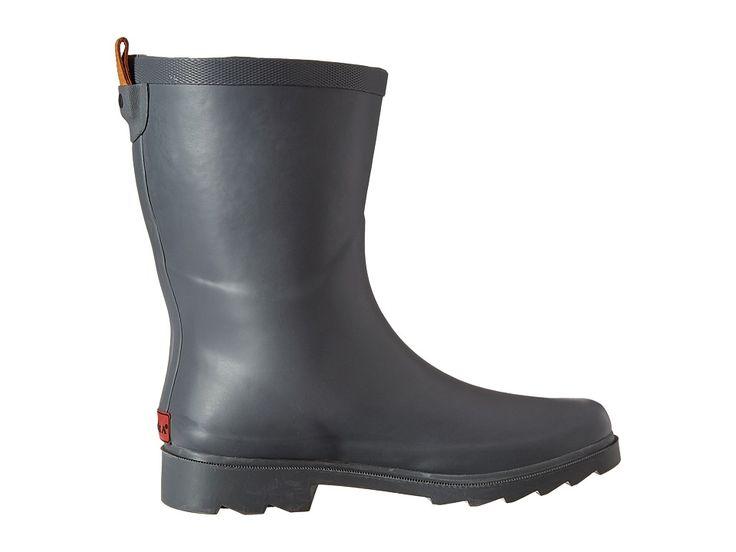Chooka Top Solid Mid Rain Boot Women's Rain Boots Dark Gray