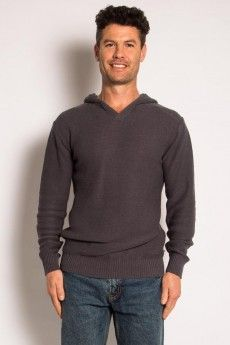 Mens V neck Hemp Hoodie...so comfortable