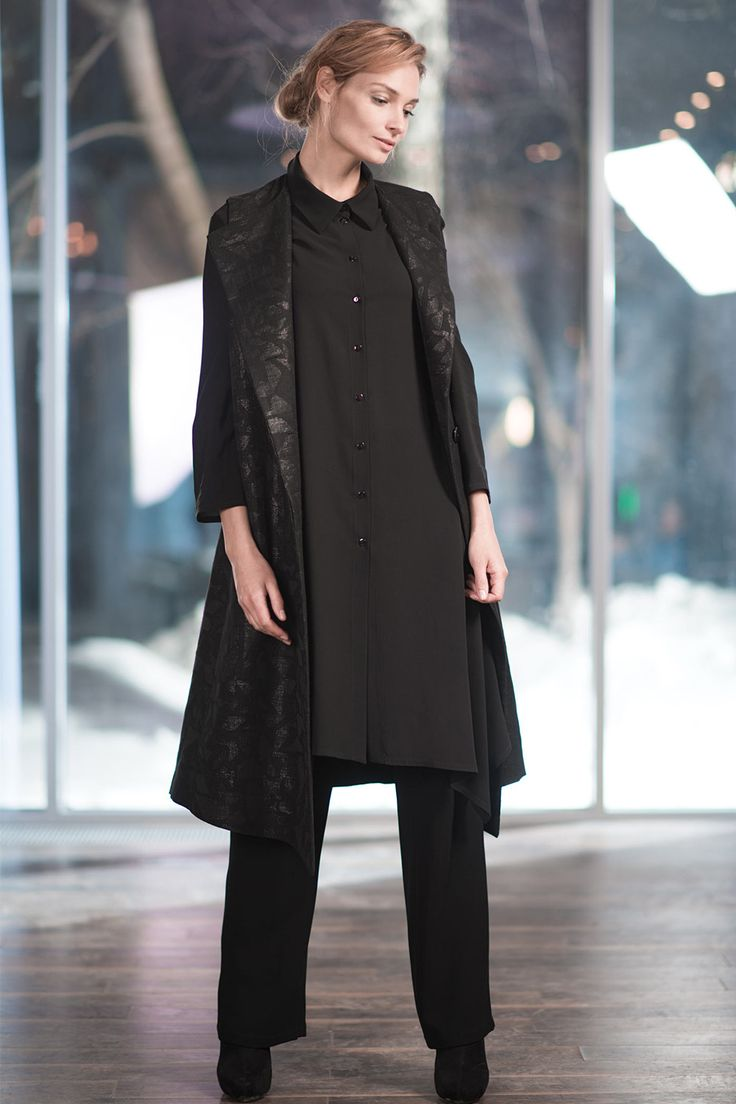 Купить Жилет Жаккард от Lesel (Лесель) российский дизайнер одежды
