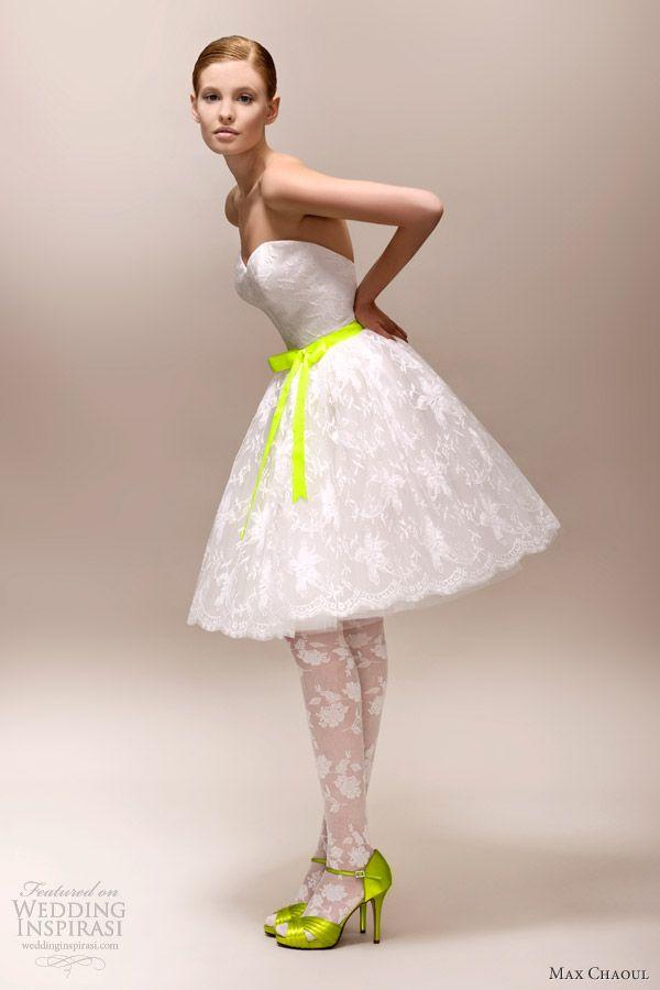 Robes de Mariée Max Chaoul 2013 - Le Fluo Style