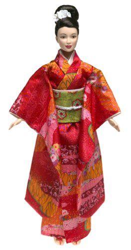 AmazonSmile: Barbie Princess of Japan Dolls of the World: Toys & Games