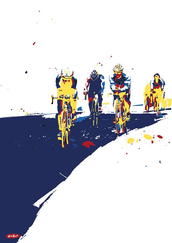 Triathlon van Holbirt op Etsy
