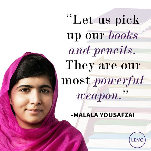 Join us in congratulating fearless education activist and girls' rights defender Malala Yousafzai on winning the Nobel Peace Prize! Talk about #supergirls: she is the youngest winner ever at 17 years old. Just in time for International Day of the Girl tomorrow, let us continue to raise our voices with Malala to demand girls' access to safe #education around the world!  (Image via @levoleague.)