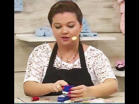 Sapatinhos de bebê Maria e João com Jaqueline Santos | Vitrine do artesa...