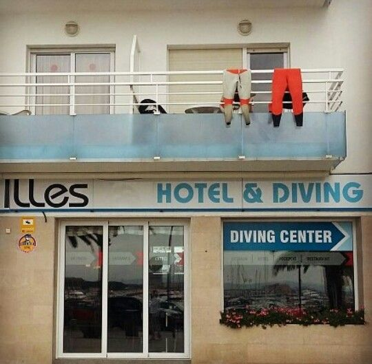 Diving center - L'Estartit