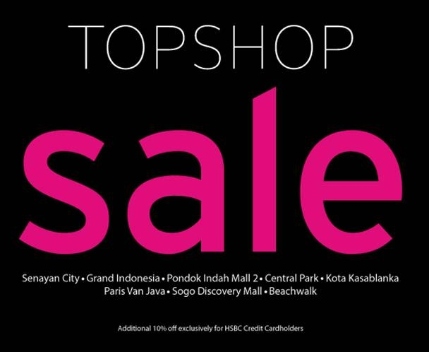 Enjoy Topshop's Sale! Save up to 50% and more!