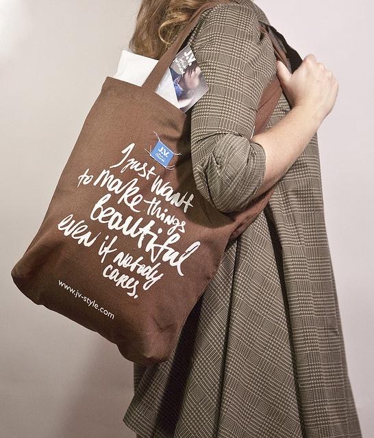 #Canvas #Bag by #J.V. Fashion you can wear, via #Flickr