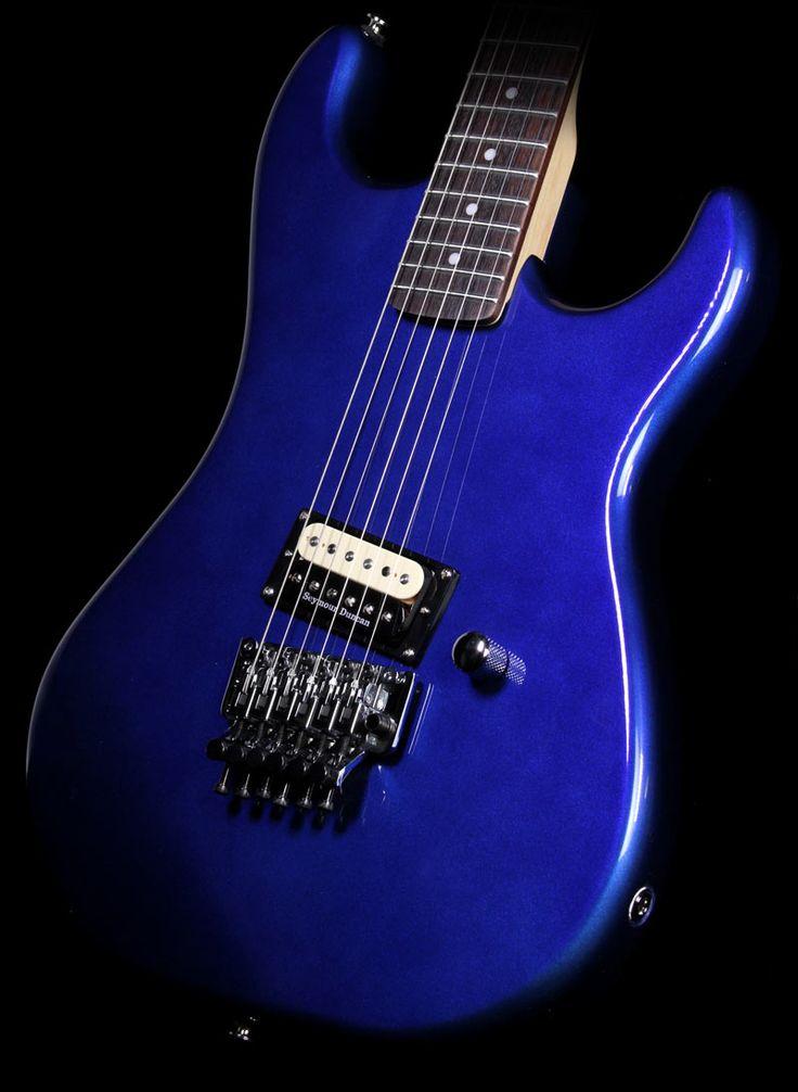 17 best images about guitar zakk wylde joe perry brand new kramer baretta vintage electric guitar candy blue