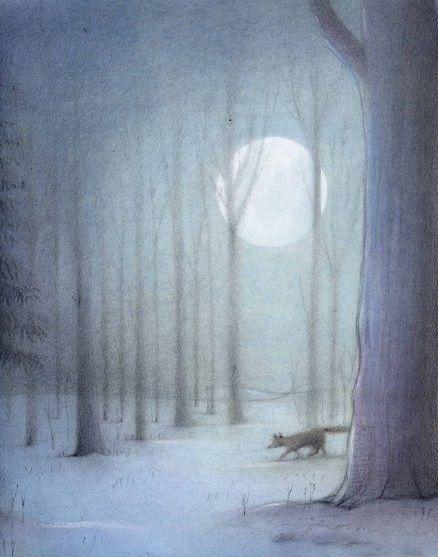 Józef Wilkoń | First Snow