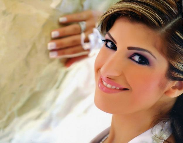 Изящный свадебный макияж для карих глаз розовыми тенями ::: onelady.ru ::: #makeup #eyes #eyemakeup