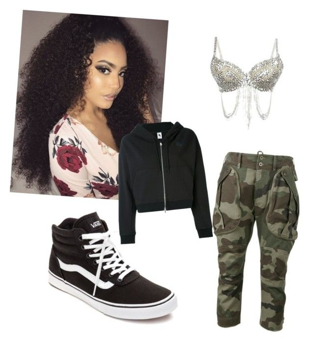 """Street Dance"" by imonisullivan on Polyvore featuring Faith Connexion, Vans and NIKE"