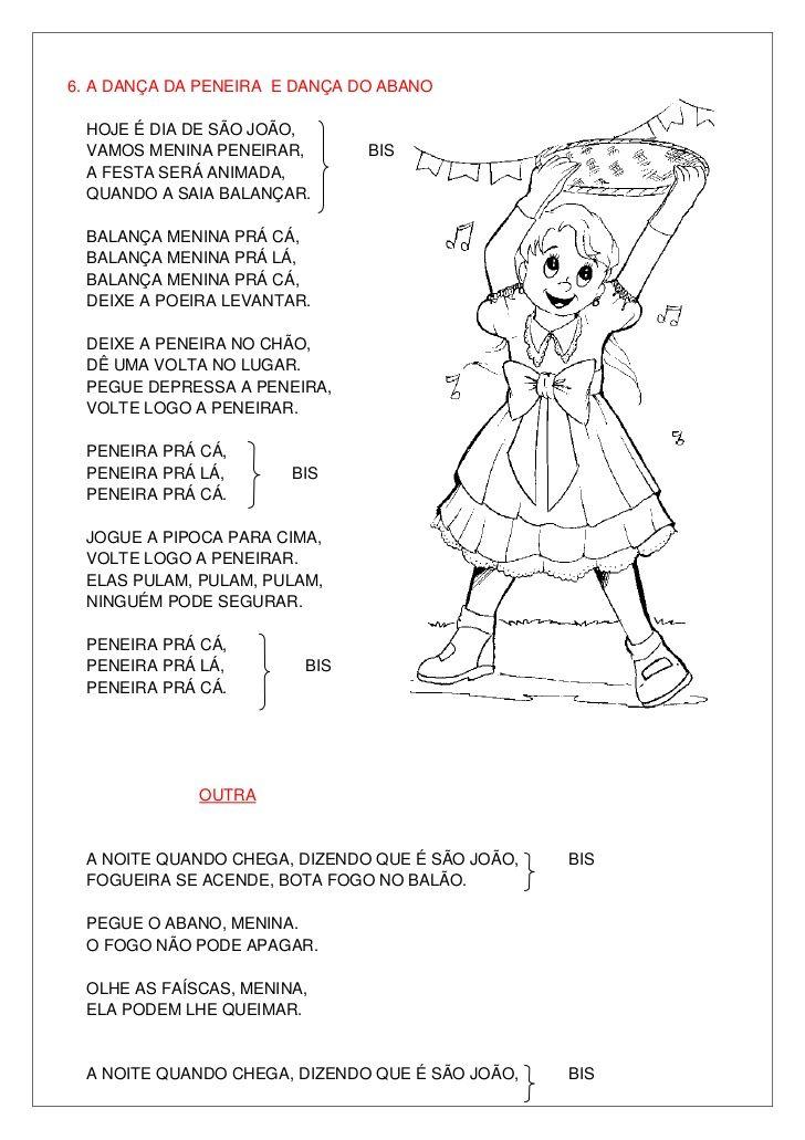 Favoritos As 173 melhores imagens em letras de músicas infantil no Pinterest  NS68