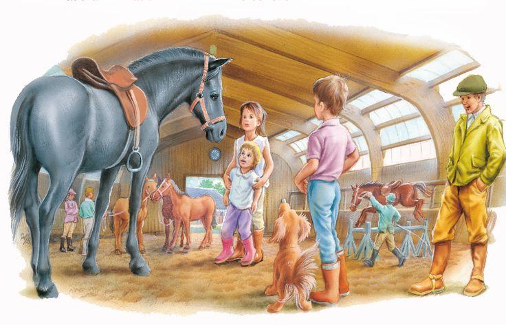 Mini Pop-up - Martine et les poneys - Gilbert Delahaye - Marcel Marlier - CastermanJeunesse