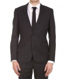 Tailored-Fit Grey Valium Jacket