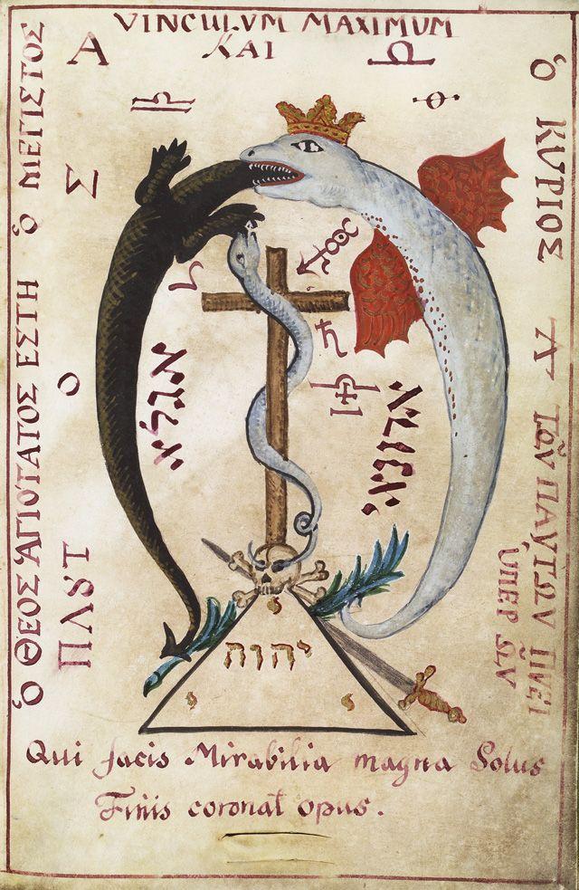 From M. L. Cyprianus' Clavis Inferni sive Magia Alba et Nigra Approbata Metratona, late C18th.