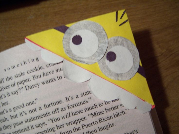 diy despicable me | Diy Despicable Me Minion Bookmark ∙ How To by Ally M. on Cut Out ...
