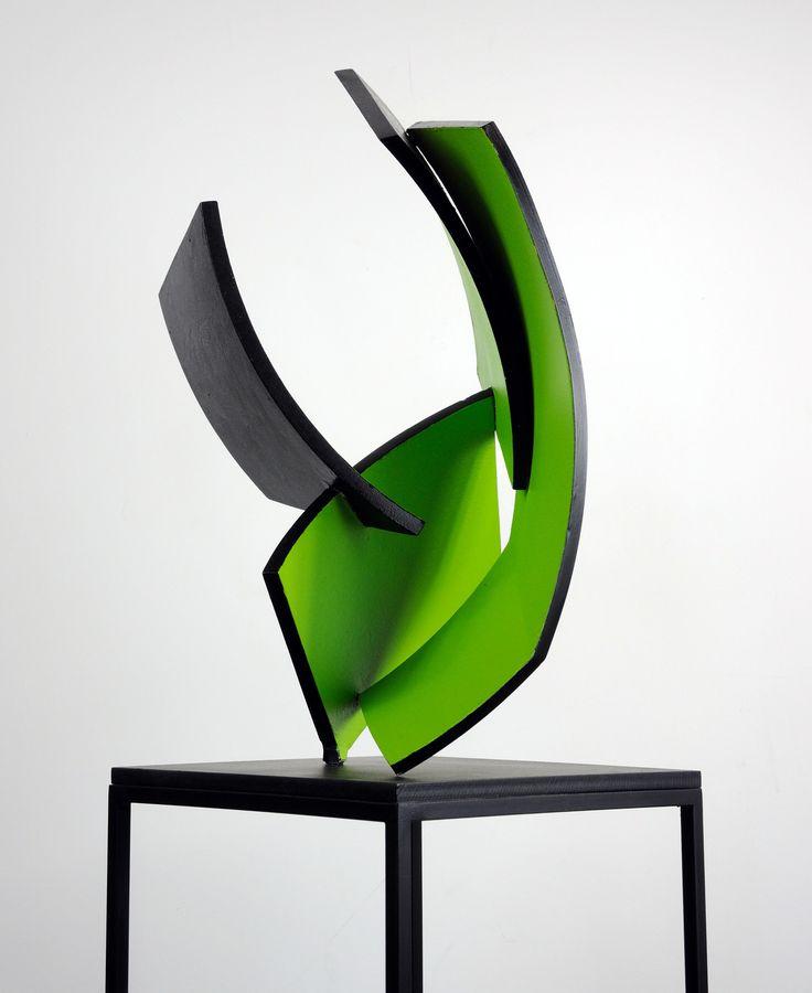 Tata taa, 2016 Painted steel 8,6 x 7,4 x 14,1 inch (22 x 19 x 36 cm) http://eelkevanwillegen.nl/