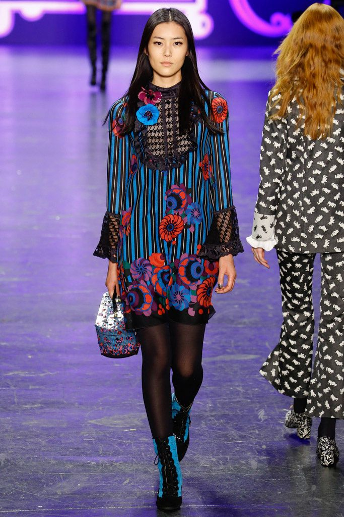 Anna Sui Pret A Porter Otoño Invierno 2016/2017 (New York Fashion Week)
