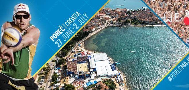 Swatch Major Beach-Volleyball Porec 2017 – Infos und Unterkunft - In Istrien