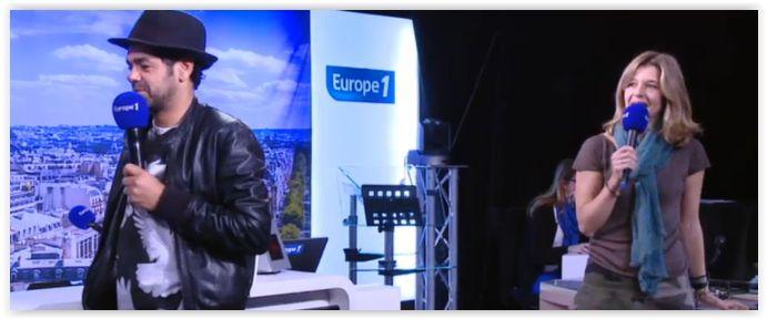 Jamel Debbouze face aux enfants dans Europe Midi
