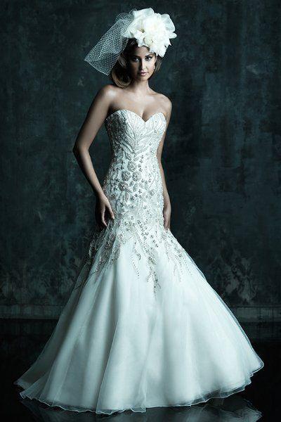 58 best Beautiful Wedding Dresses images on Pinterest | Wedding ...