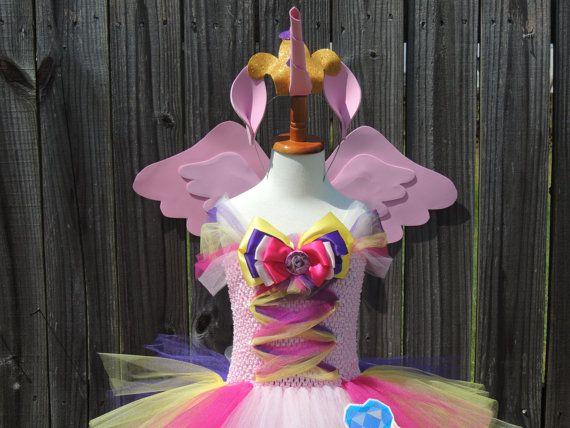 Mi pequeña cadencia Pony princesa inspirado vestido w Cutie