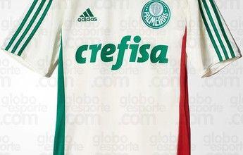 BLOG: Nova camisa reserva do Palmeiras volta a ter detalhes verde e vermelho