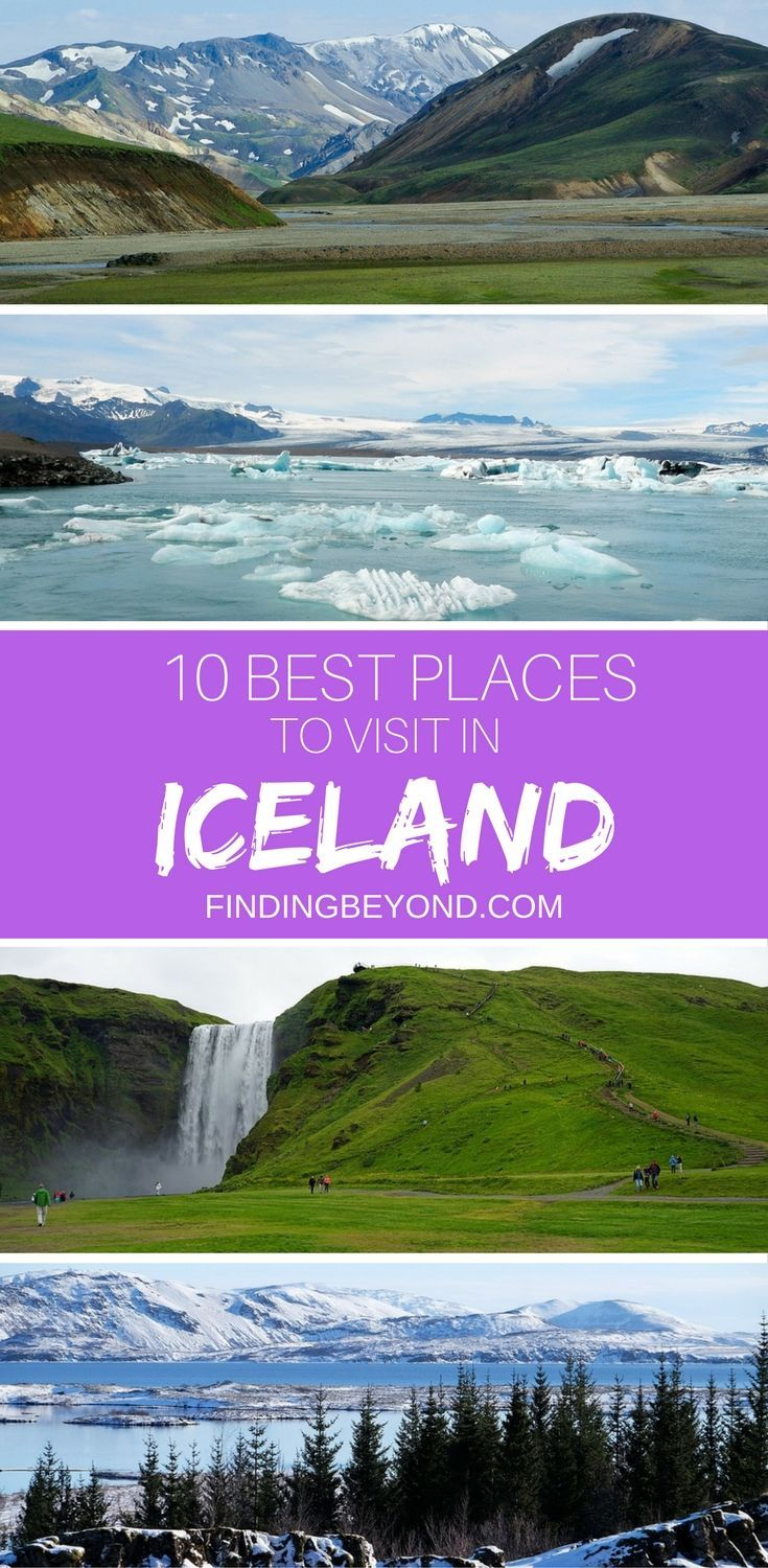 Iceland has so much on offer that it's difficult to narrow it down to just 10 Best Places to Visit in Iceland, but we have done it! Check them out here. | Best of Iceland | Iceland on a Budget | Highlights of Iceland | Top activities In Iceland | Iceland on a Budget | Traveling to Iceland | Top ten in Iceland |