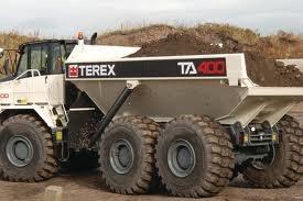 terex articulating dump truck euclid terex pinterest. Black Bedroom Furniture Sets. Home Design Ideas