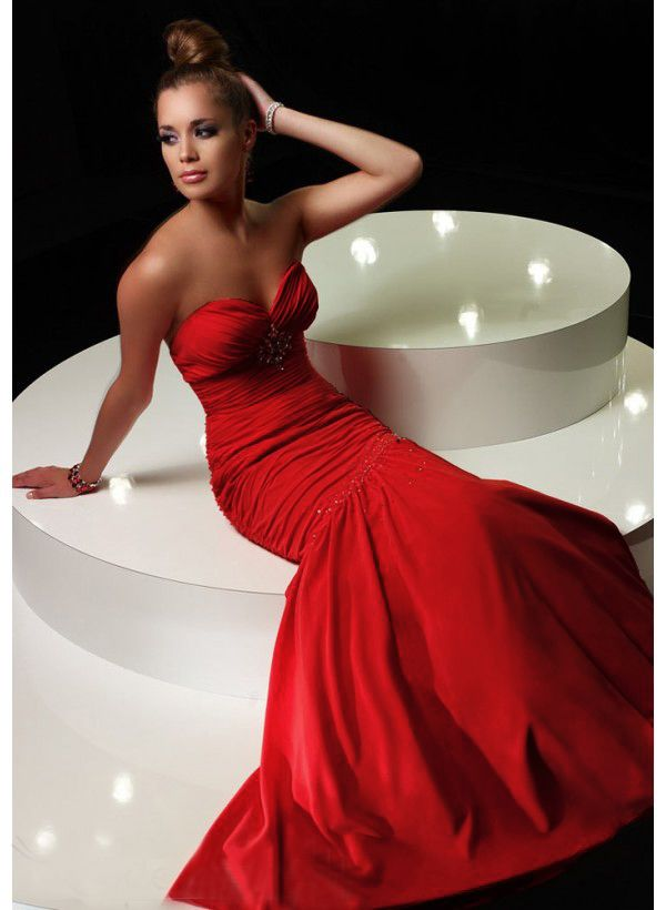 Cheap Red Prom Dresses 2013