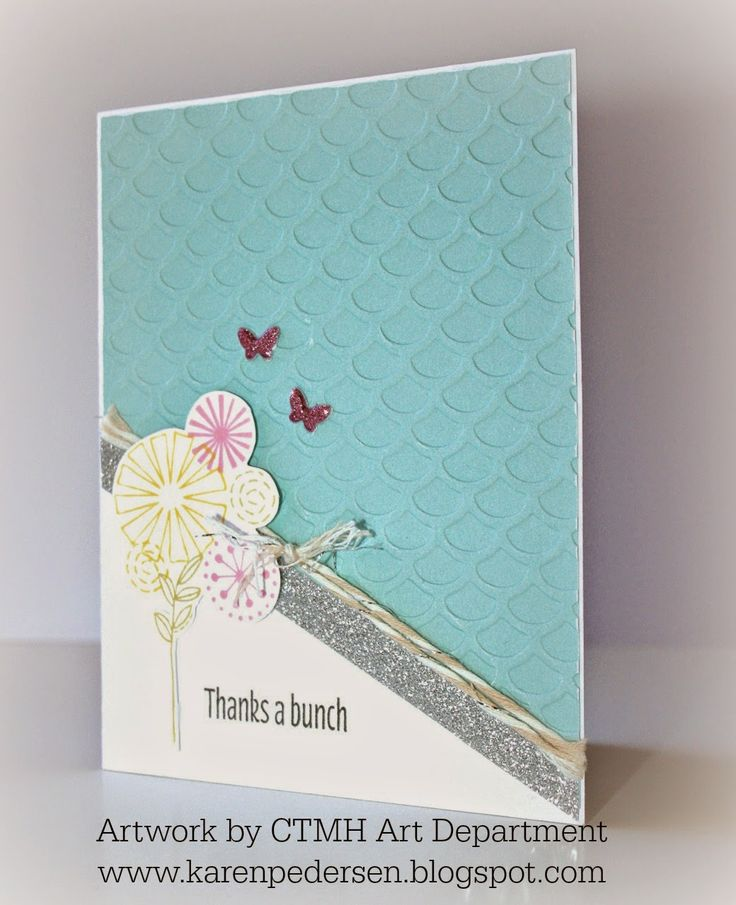 what to write in my bridal shower thank you cards%0A Karen Pedersen  Thank You Card from the Close To My Heart Art Department