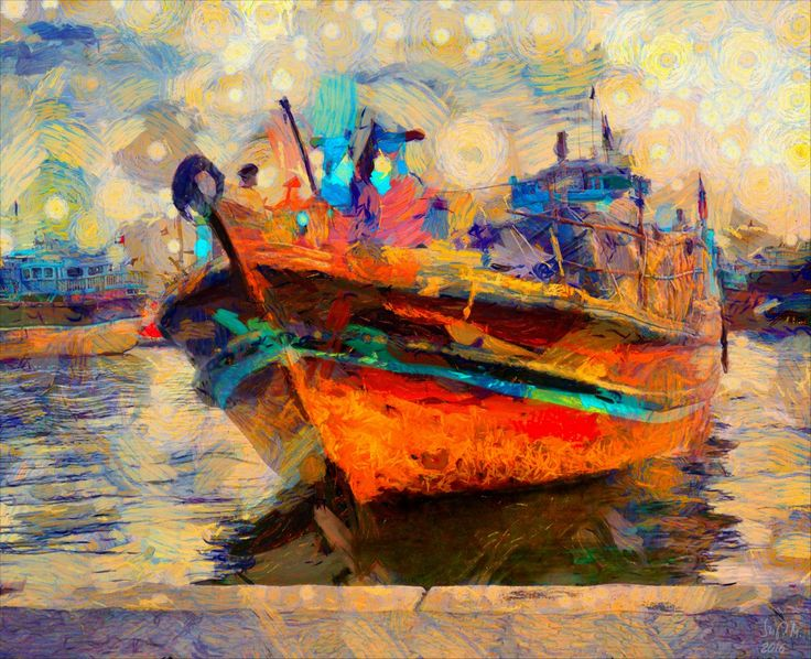 Check out Fishing boat by Szigeti Miklos at eagalart.com