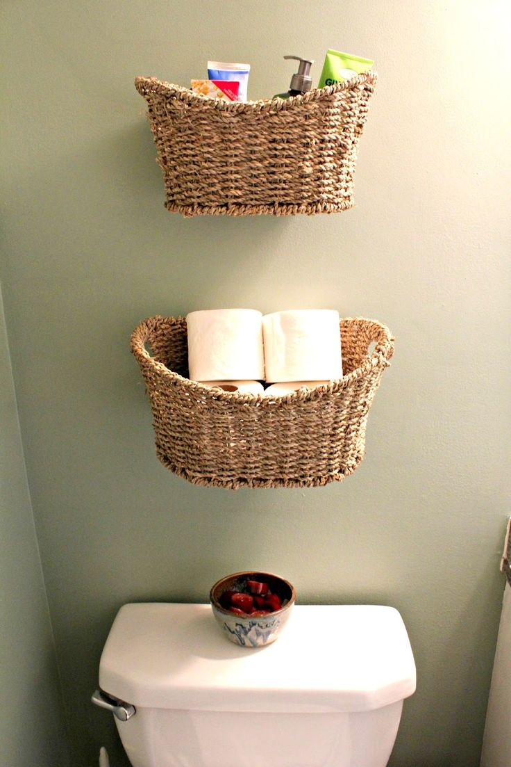 1000 ideas about basket bathroom storage on pinterest. Black Bedroom Furniture Sets. Home Design Ideas