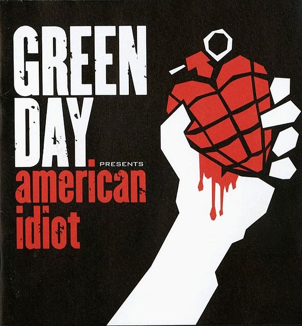 Green-Day American Idiot, 25 days 25 songs, day one, a song from my childhood.