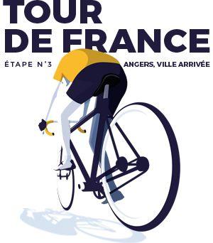 2016 : Le Tour de France est passé par Angers !