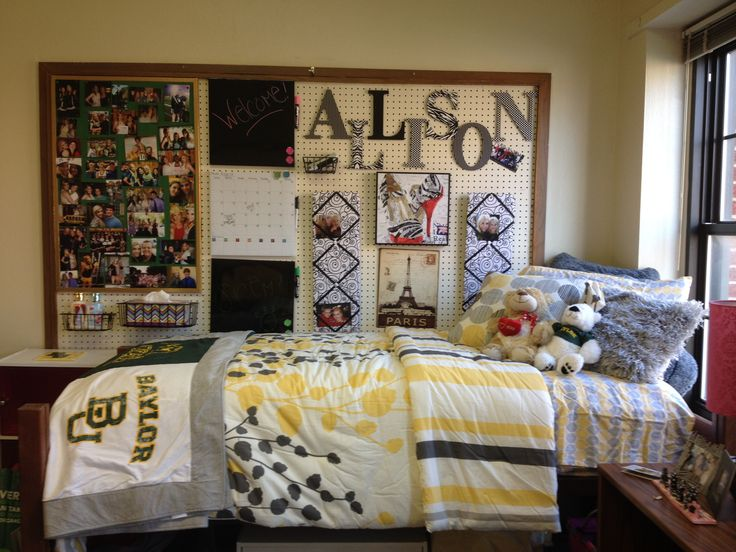 My Dorm Room Baylor Baylor Dorm Rooms Pinterest
