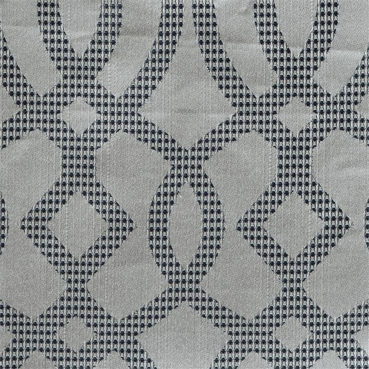 exhale curtain panel in a quatrefoil design available in 4 colors 108 inch