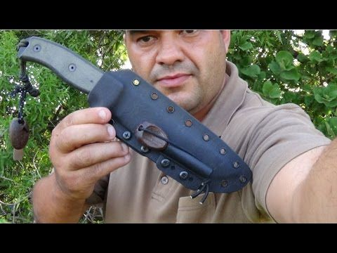 ESEE 6 Knife Review: Andre from SurvivalZoneAfrica