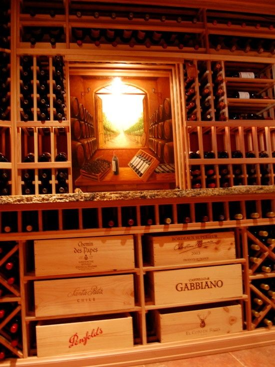17 Best images about Wine Crate Shelving