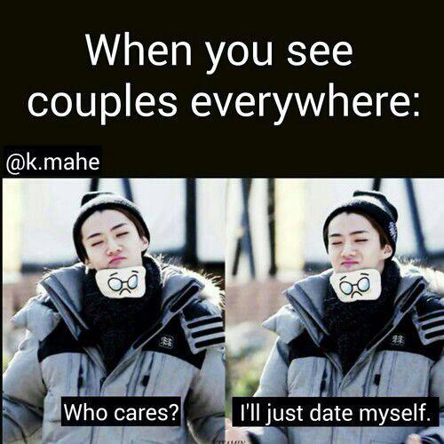 If I was Sehun I'd date myself. XD
