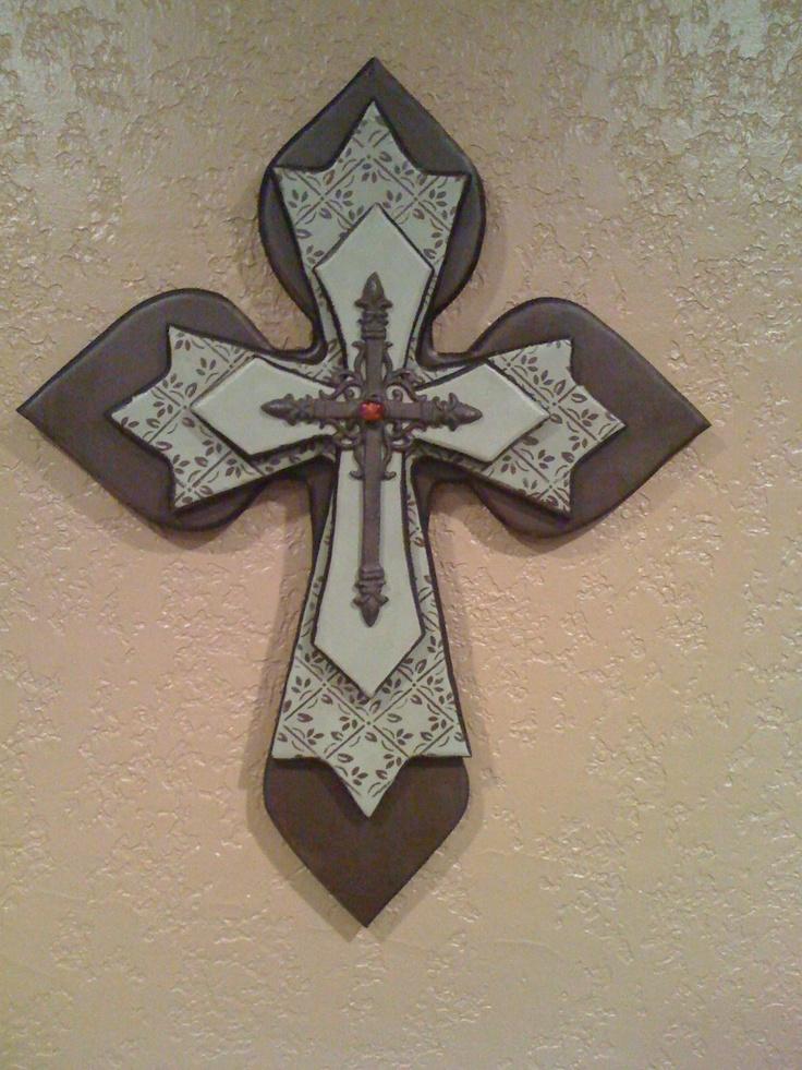 446 best i cross my heart images on pinterest cross for Wooden craft crosses wholesale