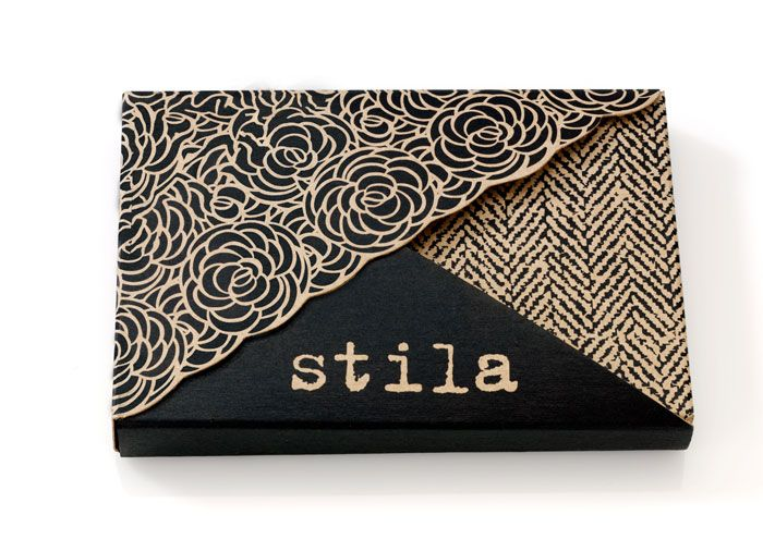 Stila Eye Shadow - Package Design so cool. Makes me want to