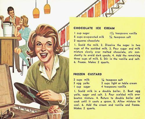 Chronically Vintage: I scream, you scream, we all scream for vintage ice cream!