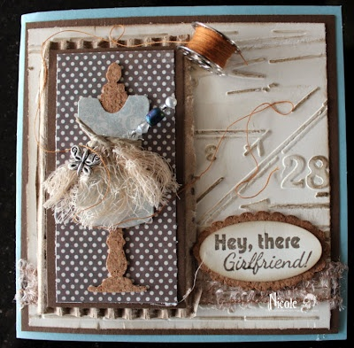 """""""Girls Just Want to Have Fun"""" SMS Release, sewing card"""